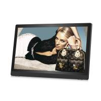 China Ultrathin HD IPS 27inch LCD Digital Photo Frame Plastic Case Video Loop Play on sale