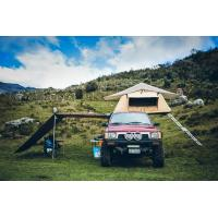 Quality Outdoor Car Roof Shade Awning , Roof Rack Shade Awnings For 4x4 Vehicles for sale