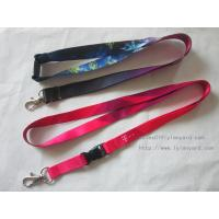 Quality Christmas Colorful Heat Transfer Lanyard Belt For Neck Strap for sale
