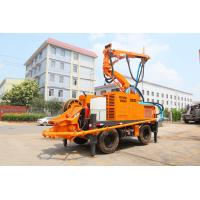 Quality Multifunction Robotic Arm Wet Shotcrete Machine For Tunnel for sale