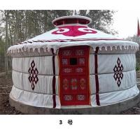Quality Anti - Snow Yurt Style Camping Tent,  Heat Preservation Mongolian Nomad Tent for sale
