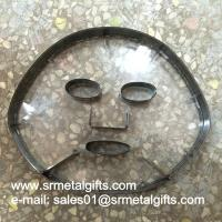 China Facial mask steel blade cutting die transparent acrylic sheet on sale