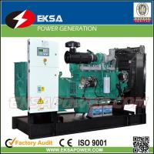 Hot-selling 250Kva CUMMINS diesel power generator set open types with fuel tank