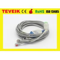 Buy cheap Reusable Spacelabs 5 Leads ECG Cable For Patient Monitor, Round 17Pin / AHA from wholesalers