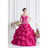 Quality Taffeta Quinceanera Party Dresses for sale