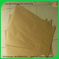 Quality BMPAPER Excellent coating korea stiffness closed wood pulp paper  for cement bags for sale