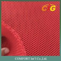 Quality Honeycomb Polyester Mesh Fabric 3mm Thickness For Car Seat Cover 150cm Width for sale