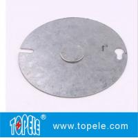 Quality Round Gang Electrical Boxes And Covers Weatherproof Flat Use To Attach Switches for sale