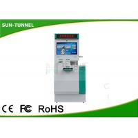 Automatic Hotel Terminal Customer Service Kiosk , Fast Food Self Service Kiosk Payment Function