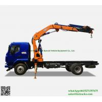 Buy cheap Custermizing Truck loading crane 8 ton at 2m, truck mounted crane, SQ160ZB4, from wholesalers