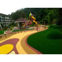 Buy Environmental Protection EPDM Rubber Flooring High Abrasive Resistance at wholesale prices