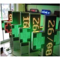 Quality IP65 P20 3D Outdoor Dual Color Pharmacy Display custom led sign with 1000 * 1000 mm Size for sale