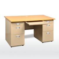 Quality I Shaped 0.6mm 1600mm Length Modern Office Table for sale