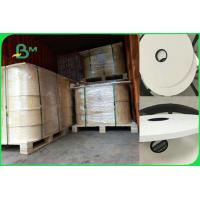 China White Food Grade Wrapping Cigarette Paper Roll For Straw 28gsm FDA SGS FSC on sale