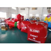 China Water Triathlons Advertising Inflatable Promoting Buoy For Ocean Or Lake on sale