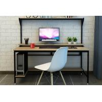 Quality Fashionable Modern Laptop Desk , Home Combination Simple Computer Table Bookshelf for sale