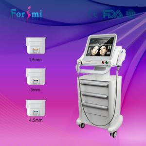 Best 3 transducers Evo hifu high intensity focused ultrasound hifu beauty machine