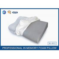 Buy cheap Visco Elastic Contoured Bamboo Charcoal Memory Foam Pillow For Neck Orthopedic product