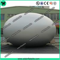 Quality Customized Decoration Colorful Inflatable Silver Egg Easter Festival Decoration with Print for sale
