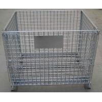 Quality Q235 Material IBC Metal Cage Warehouse Storage Cages 6.0mm Wire Diameter For Transport for sale