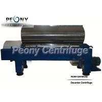 Continuous Discharge Centrifugal Decanter centrifuges for Starch Pulp Separation in Starch Industry for sale