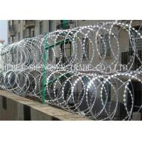 Quality Hot Dipped Galvanized Razor Blade Barbed Wire for sale