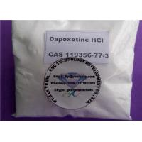 Buy cheap Dapoxetine Hydrochloride Sex Enhancing Drugs For Male Premature Ejaculation , CAS 129938-20-1 product
