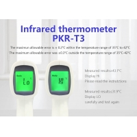 Quality Forehead Digital Ir Infrared Thermometer for sale