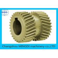 Quality Customized Steel / Bronze Double Helical Gear For Agriculture Machine for sale