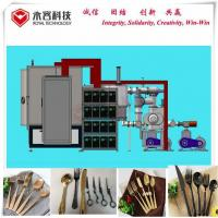 Quality Titanium Nitride Coating Equipment / Kitchenware Ceramic PVD Plating System for sale