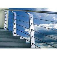 Quality Silver Color Stainless Steel Railing For Protection Personal Safety GB Approved for sale