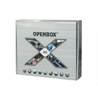 Buy cheap Openbox X6 DVB S2 HD Set Top Box with DLNA / 2 USB / LAN / YPbPr / Google Maps from wholesalers