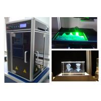 Quality Air Cooling Industrial Laser Engraving Machine Single Phase 220V or 110V Powered for sale