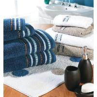 Buy Solid Bath Towel With Dobby Border Approved by Oekotex at wholesale prices
