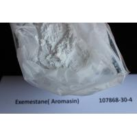 Buy Anti Estrogen Exemestane / Aromasin Raw Steroid Powders For Breast Cancer Treatment 107868-30-4 at wholesale prices