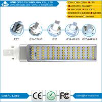 Quality 2018 Hot Sale Energy Saving E27/G24/G23 Base 13W Led PL Light  SMD2835,Smd Plc Led Lamp For Cfl Replacement CE for sale