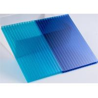 Quality Awning Uv Protection Twin Wall Polycarbonate Sheet Oem Impact Resistance for sale