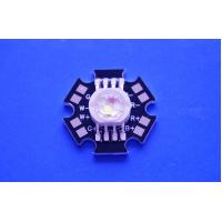 China 4X3W Epistar LED Chip High Power RGBW Led Diode With Black Star PCB on sale