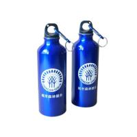 China ALUMINIUM CAMPING WATER BOTTLE SET LIGHTWEIGHT c/w CARABINER KEYRINGS on sale