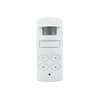 Quality Indoor Motion Sensor Activated Detector Alarms with Two Types Power Supplies Design for sale