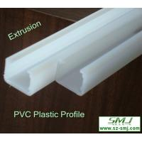Buy cheap Customer design plastic extrusion pe profile with RoHS product