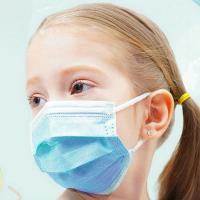 China Ear Wearing Disposable Kids Mask Children'S Disposable Face Masks For Student on sale
