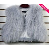 Buy cheap Blue Fox Fur Vests product