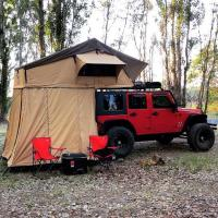 Quality Customized Truck Pop Up Roof Top Tent Streamlined Design For Family for sale