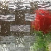Quality Clear Woven Pattern Glass for sale