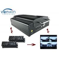 Quality 720P HD 3G Mobile DVR with 4CH Mobile DVR CMS platform for CIty Bus for sale