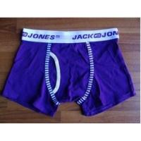 Quality OEM Dark Blue Spandex Breathable Personalised Underwear for Men for sale
