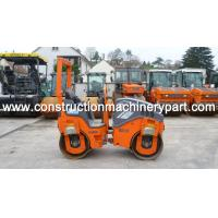 Quality Double Drum Used Road Roller HD10VV 910 Hours With CE Certification for sale