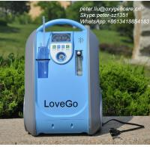 Quality Portable oxygen concentrator 5LPM 5.4kg 40-90%adjustable for sale