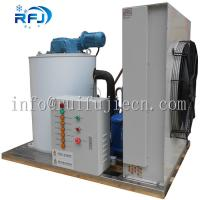 China Industrial Flake Ice Machine 3 Tons 380V/50HZ Bock / Bitzer / Copeland Compressor on sale